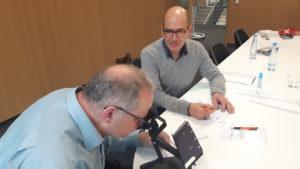 Screening des visuellen Systems