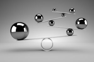 Harmonisches Sehen bedeutet alles in Balance