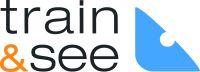 train & see logo