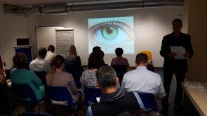 train&see - Kurzvortrag bei FREUDENBERG - Weinheim - gleich geht es los