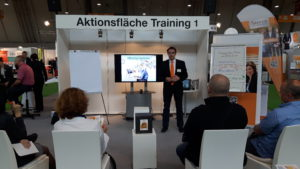 train&see - Vortrag auf der Messe - Office Eye Syndrome