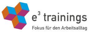 e³-trainings - Fokus für den Arbeitsalltag. einfach, effizient und entspannt Arbeiten