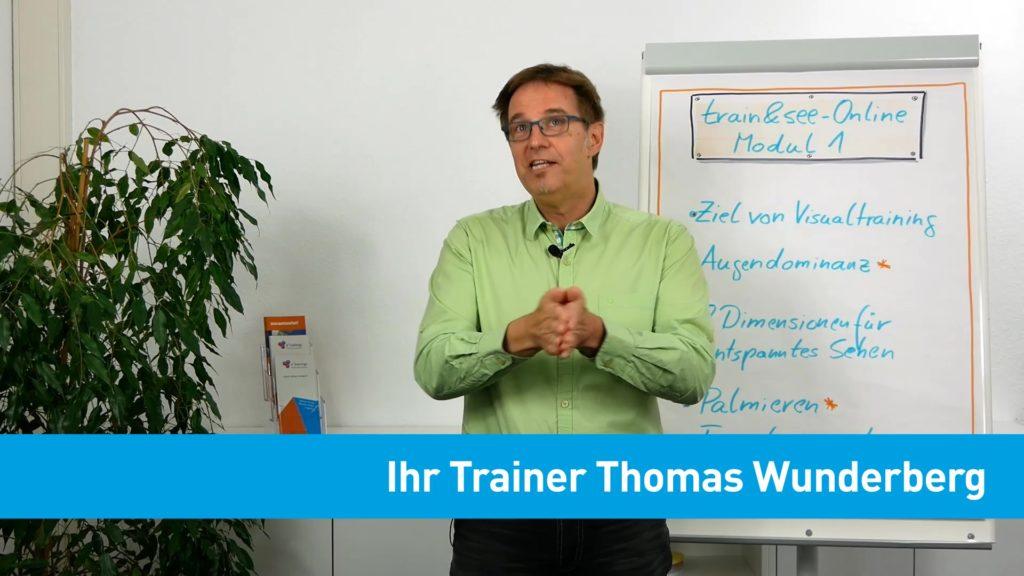 Standbild aus einem Video zu train & see Online